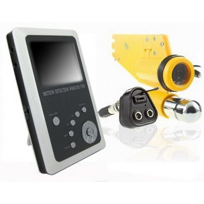 2.5 Inch TFT OLED Screen Waterproof Spy Camera + 2.4GHz Receiver